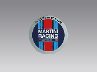 Grillbadge – MARTINI RACING Kollektion