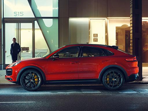 Unser exklusives Leasingangebot für Sie: Das Porsche Cayenne Coupé.