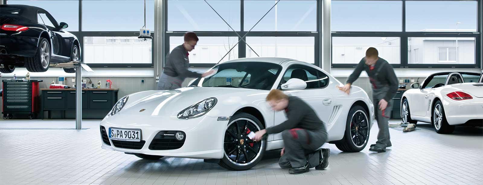 Porsche Service   Winter-Pflegeaktion