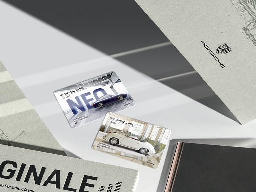 Porsche Classic Card.