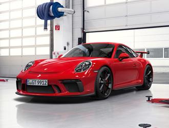 Der Race-Check im Porsche Zentrum Hamburg Nord-West.