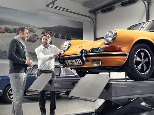 Porsche Classic Check.